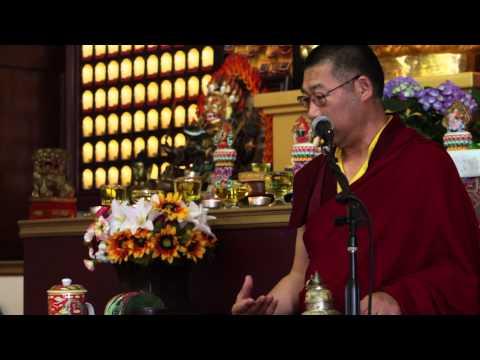 Teaching of Drikung Phowa (2) / 直貢頗瓦教授(2) by Lama Thubten Nima