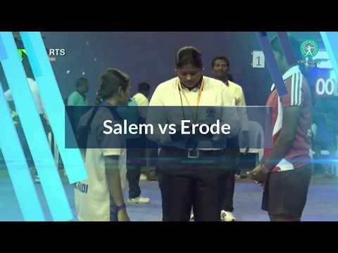 QF Women match - PKR Erode vs Salem dt - State level CM Trophy match 2019