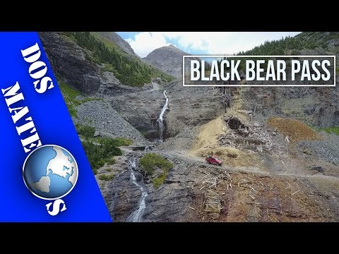 Black Bear Pass - Aerial Ride-Along in Stunning 2.7K HD