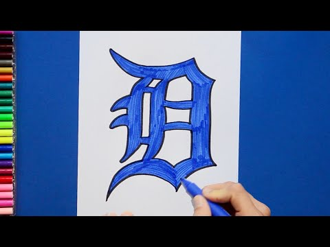 How To Draw Detroit Tigers [MLB Team]