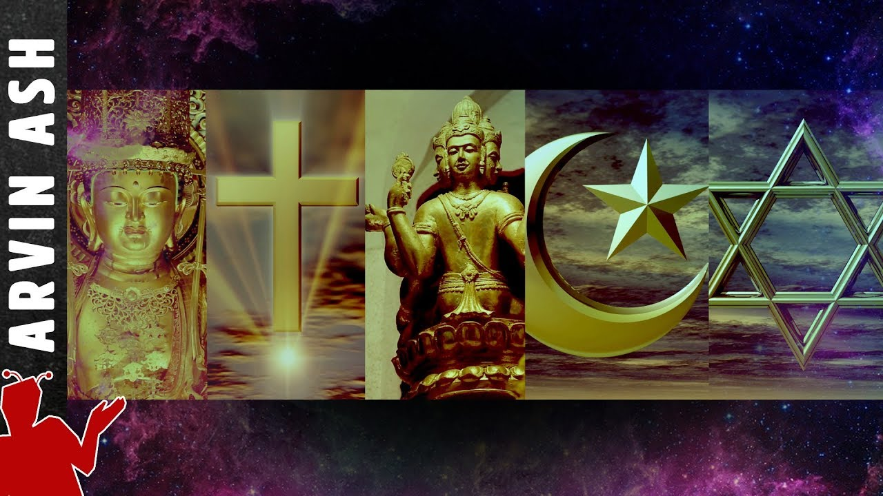 Religions of the World summarized: Buddhism, Christianity, Hinduism, Islam, Judaism in 5 minutes