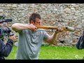 Andreas Bichler shoots 1200 lbs Medieval Composite Crossbow