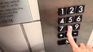 Westinghouse Mod. by Schindler Miconic 10 Traction Elevators at Beverly Center in Los Angeles, CA