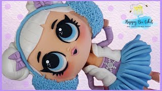 GIANT lol surprise doll cake | Kids cakes | lol doll DIY