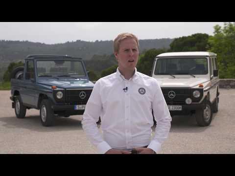 Classic Insight Mercedes-Benz G-Class - Interview Dennis Heck