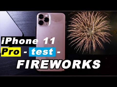 iPhone 11 Pro Camera Test Shooting Fireworks | Review 📷😆🎥🎆🎇