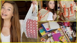 Back to School Supplies Haul! + HUGE Giveaway!! ☼ 2013