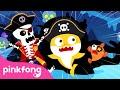 Chumbala Cachumbala Skeleton Pirates 💀| Baby Shark Halloween Songs | Pinkfong Songs for Children