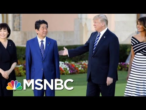 President Donald Trump's Mixed Signals On Trade With Asia | Velshi & Ruhle | MSNBC