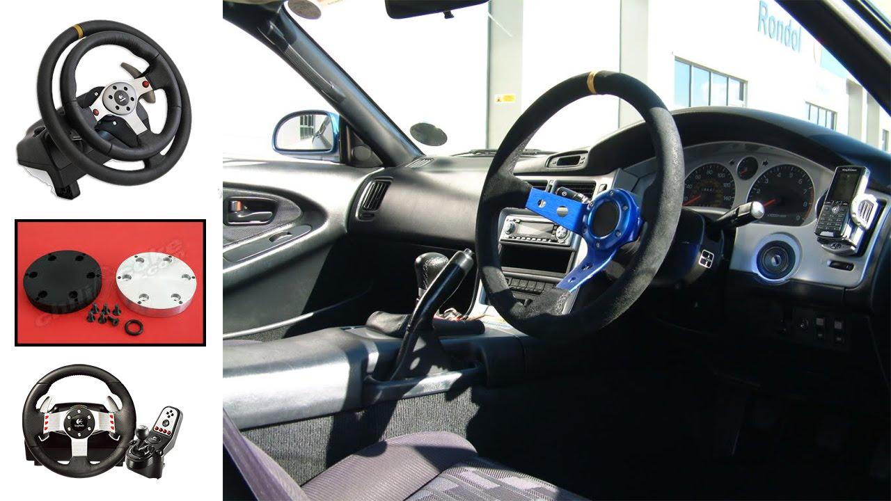 How To Change Steering Wheel On Logitech G27 Youtube