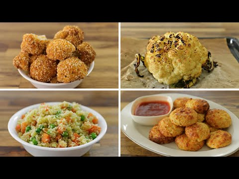 4 Easy Cauliflower Recipes