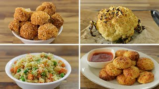 4 Easy Cauliflower Recipes