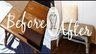 $2 Goodwill Table Makeover |Trash to Treasure