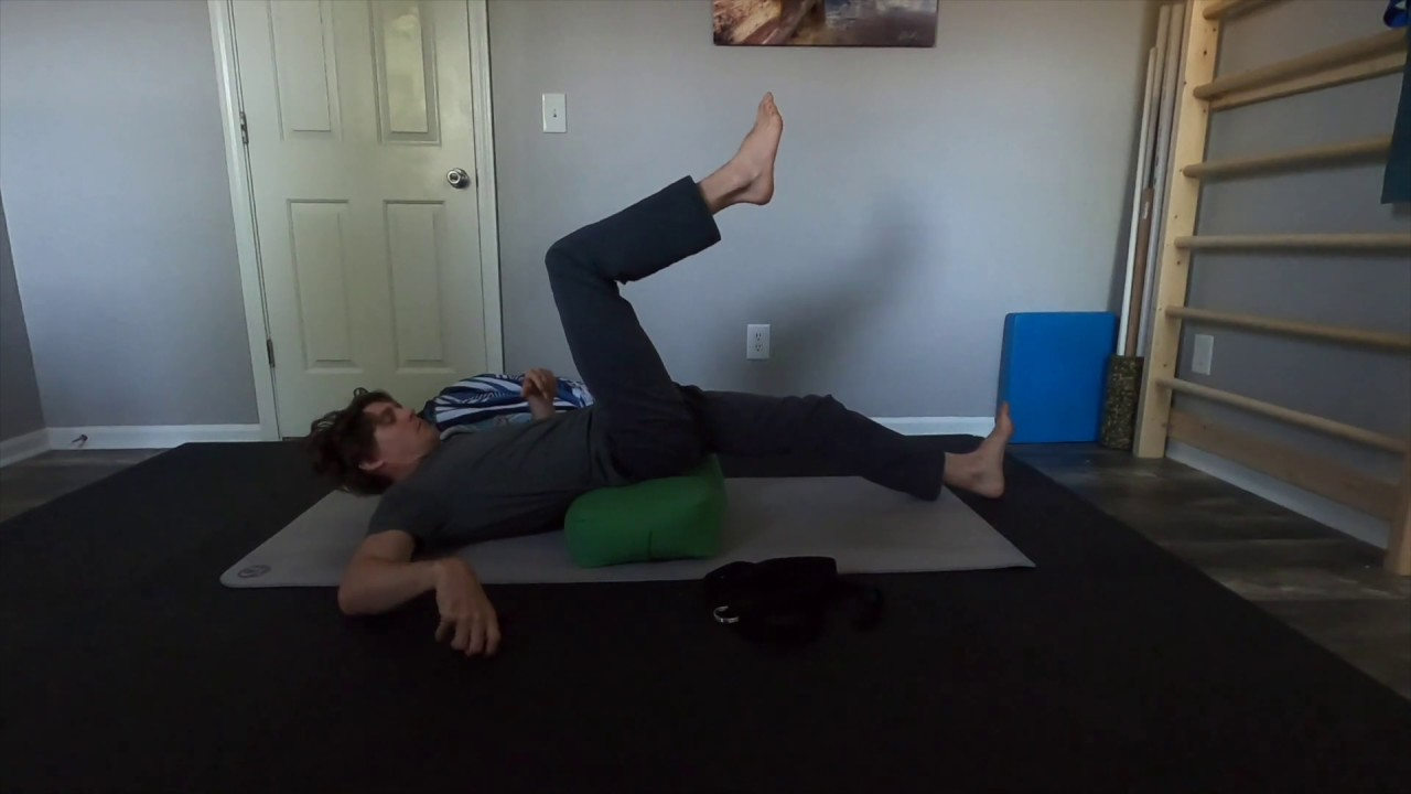 60 Minute Yin Yoga Practice for Hips and Spine