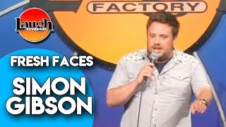 Simon Gibson Customer Service Laugh Factory Fresh Faces Stand Up Comedy