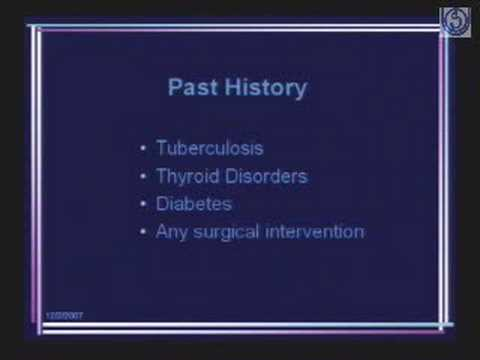 History and Clinical Examination in OBG-1