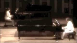Astor Piazzolla - Meditango for 2 pianos, Tamara Rumiantsev & Jeroen van Veen