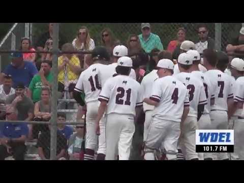 Holiday drives in winning run as Caravel baseball outlasts St. Georges in DIAA quarters