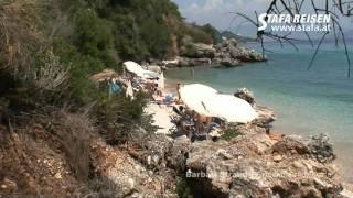 STAFA REISEN Video: Barbati Strand, Korfu(Ein Reisevideo von STAFA REISEN - AllesReise.com. Auf http://www.stafa.at finden Sie mit über 1000 selbst gedrehten Filmen die größte Hotel-Videosammlung ..., 2011-09-07T14:11:26.000Z)