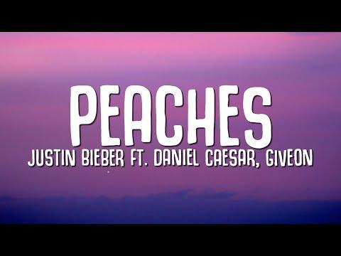 Justin Bieber - Peaches (Lyrics) ft. Daniel Caesar, Giveon