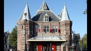 видео Амстердам -- столица Нидерландов (Голландии)./ Лучшие достопримечательности Амстердама.