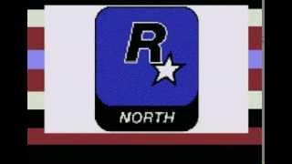 Rockstar Games и North заставка и GTA Vice City Трейлер