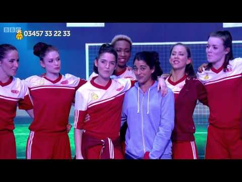 Bend It Like Beckham On Children In Need 2015