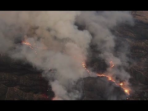 Evacuations Ordered As Apple Fire Burns 4000-Plus Acres In ...
