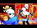 FRISK PAPYRUS SWAP BODIES Funny Undertale AU Animation Roleplay mp3