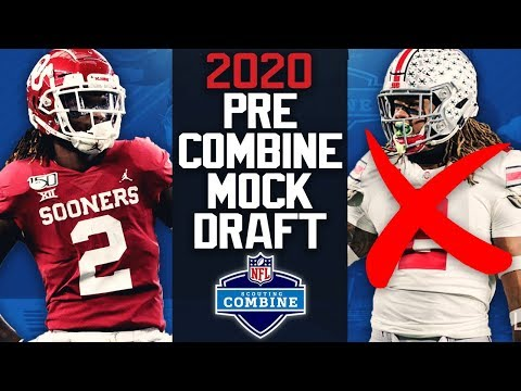 2020 NFL Mock Draft   2 Round   Pre NFL Scouting Combine