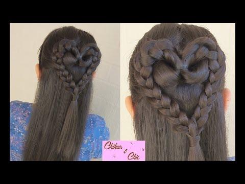Braided Heart!   Valentine's Day Hairstyles   Chikas Chic