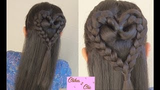 Braided Heart! | Valentine's Day Hairstyles | Chikas Chic