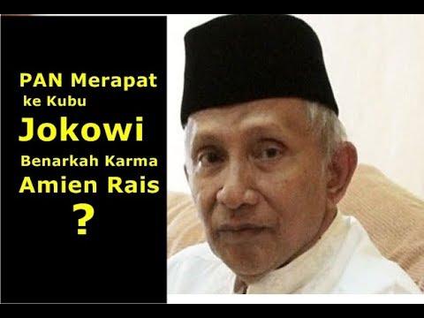 AKHIRNYA...! PAN Merapat ke Jokowi, Karma Buat Amien Rais?