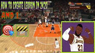Wie Erstellen Lebron im NBA-2K20!!!! l 40 Pts, 8 Ast, 6 Reb
