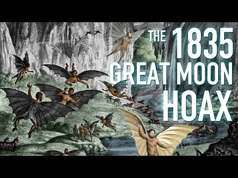 The 1835 Great Moon Hoax (Odd History)