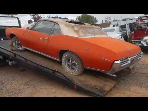 Picking up the 1969 Pontiac GTO Convertible