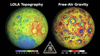 GRAIL Primary Mission Gravity Maps