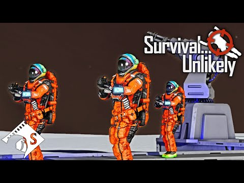 Survival... Unlikely - Could Capacs Be Shields? #4 (A Space Engineers Co Op Series)