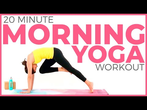 20 minute Morning Yoga Workout | Yoga for Weight Loss & Energy