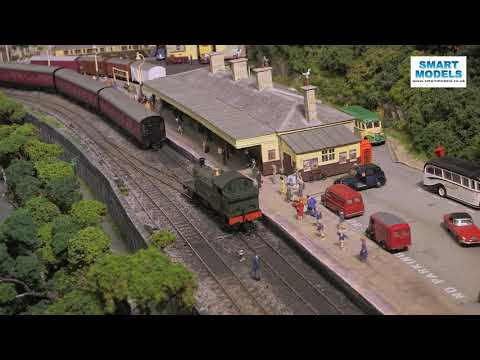 Superb model railway layout: St Ives in OO gauge