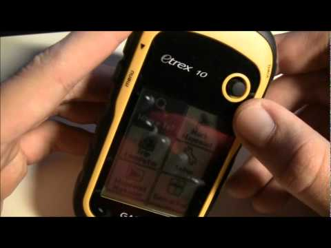 GPS TracklogGarmin eTrex 10 review - GPS Tracklog