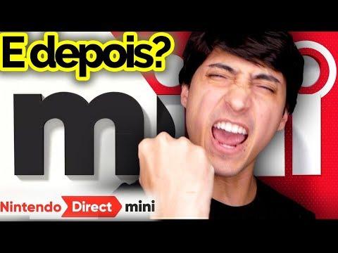 O que o Direct Mini significa pra Nintendo e o que esperar depois? Entenda // Resultado previsões!