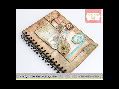 Mini Album Using Cinch Binding Tool Tutorial | Pretty Paper Studio