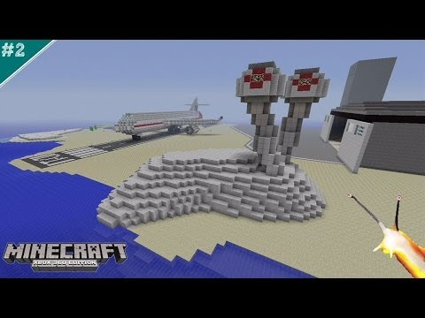 Giant Albino Slug Finished...Yesss (Minecraft: Airport Project)