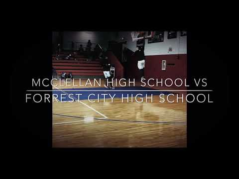 McClellan high school versus forrest city high school