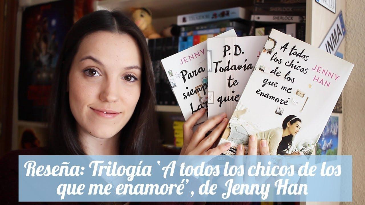 """A Todos Los Chicos De Los Que Me Enamore """"a todos los chicos de los que me enamoré"""", los tres libros de la película  de netflix."""