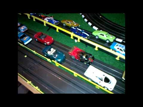 Slot Car Track Tyco H0