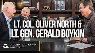 Interview with Lt. Col. Oliver North & Lt. Gen. Gerald Boykin | Podcast
