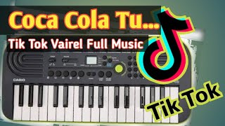 Coca Cola Tu Piano Music Tik Tok Tranding Song || Purulia Dj || New Purulia Dj Song || Dj Purulia