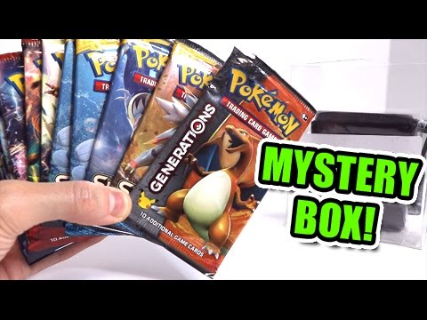OPENING MYSTERY VALUE BOX FILLED WITH RANDOM POKEMON BOOSTER PACKS!!!